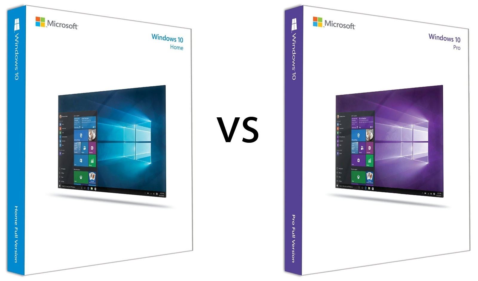 Windows 10 Home or Windows 10 Professional?